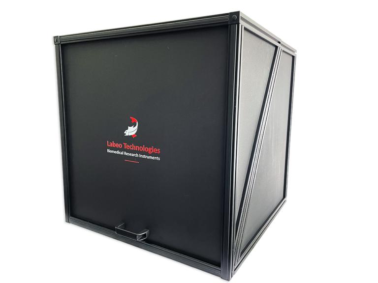 light tight box with labeo tech logo